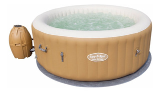 Jacuzzi Con Hidromasaje Inflable Lay-z-spa Palm C/ Cobertor