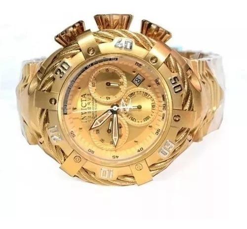 Relógio P09 Invicta Thunderbolt 21359 Dourado Original Caixa