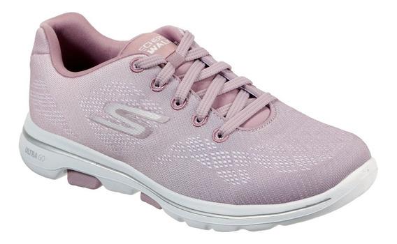 Tênis Skechers Go Walk 5 Alive Feminino - Rosa
