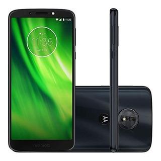 Smartphone Moto G6 Play Indigo 32gb Seminovo Vitrine