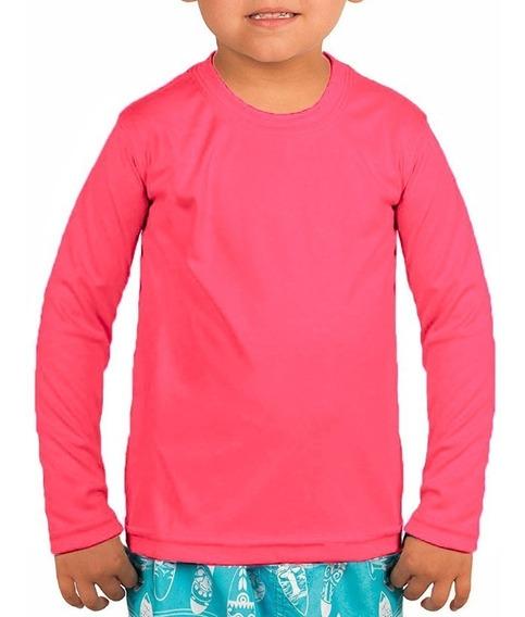 Camisa Térmica Infantil Proteção Solar Masculina / Feminina