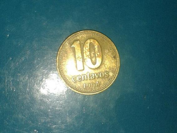 Moneda De 10 Centavos, Argentina.