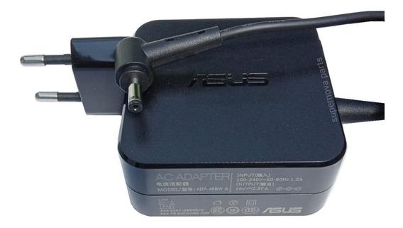 Fonte Carregador Notebook Asus Vivobook S200e X201e F201e X202e Q200e F201e F202e Tp301u Tp301ua U38n F510ua X510ua