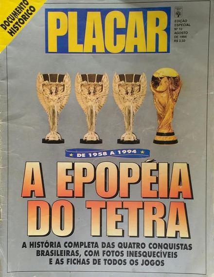 Edições Colecionador: Revista Placar Tetra E Penta