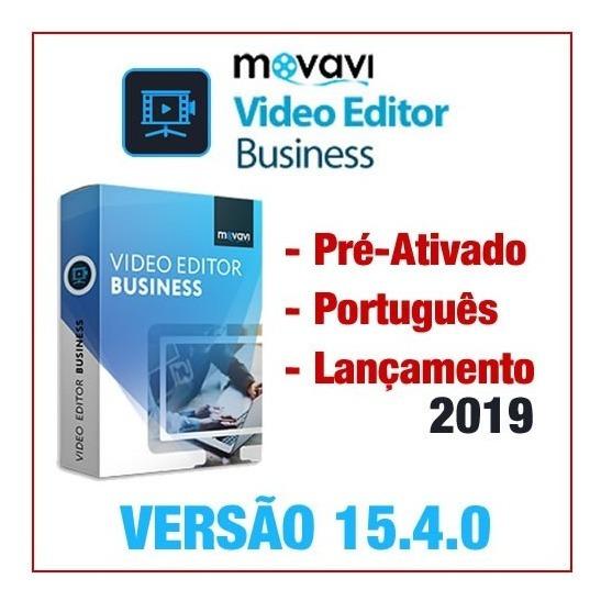 Movavi Video Editor Business 15.4.0 Ativado Lançamento 2019