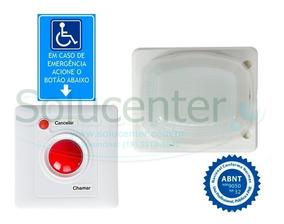 Alarme Banheiro Pne Audiovisual A Prova D