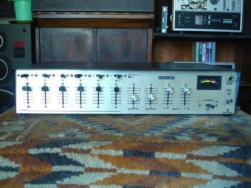 Mixer Philips (mono) Mic(s) E Instrumentos (timbre Vintage)