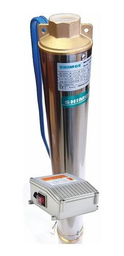 Bomba Agua Sumegible Pozo Shimge 3hp 4sgm6/12 4pLG 360*