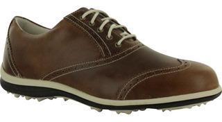 Kaddygolf Zapato Mujer Golf Footjoy Lopro Cuero Imermeable
