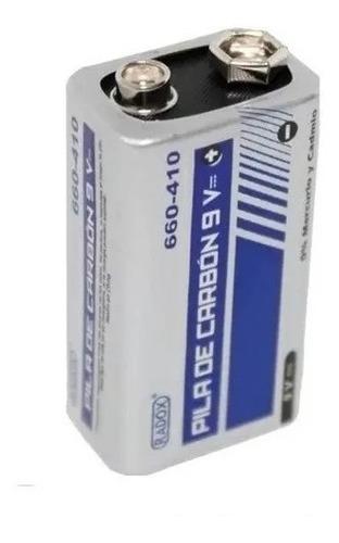 Pila Bateria De Carbon 9v Cuadrada - T1985