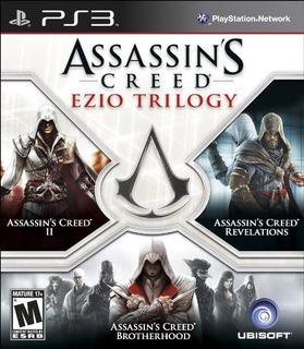Assassins Creed Ezio Trilogy - Playstation 3