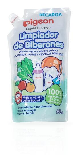 Limpiador Liquido Refill En Bolsa Pigeon 650 Ml