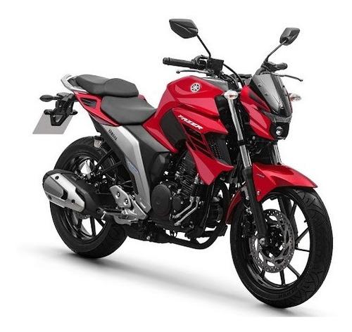 Imagem 1 de 3 de Fazer 250 Abs 2022 Yamaha 0km Vermelho