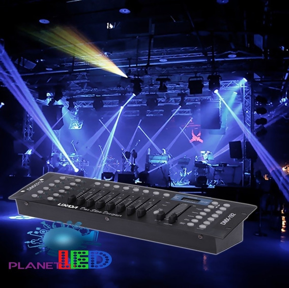 Consola Dmx 192 Controlador De Iluminación Dmx 512+obsequio