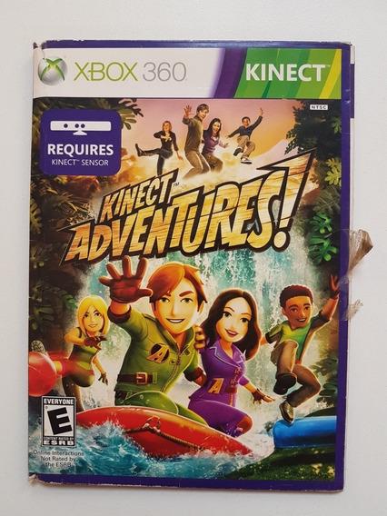 Kinect Adventures Original Capa De Papelão Para Xbox 360