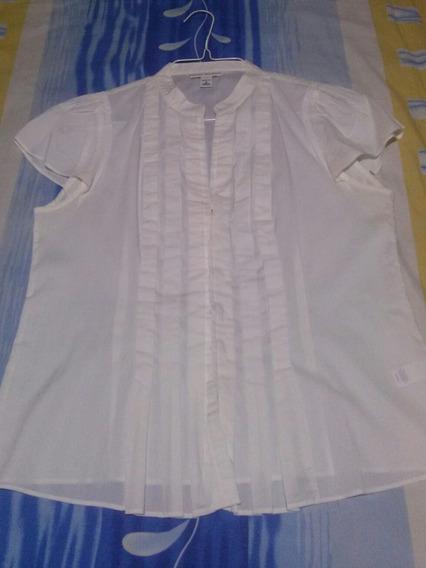 Blusa Camisa De Dama Talla S Banana Republic Usada 3dlrs