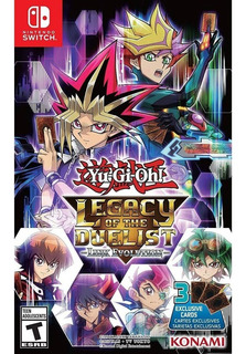 Yu Gi Oh Legacy Of The Duelist Link Evolution Switch Midia Fisica