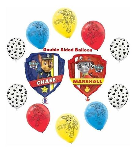 Fiesta De Cumpleaños De Paw Patrol Chase Y Marshall De 11 Pi