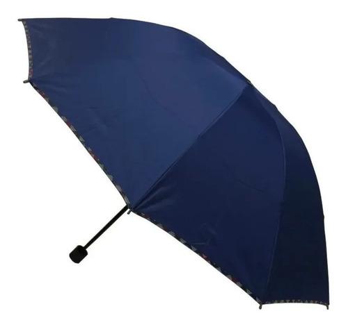 Paraguas Compacto Estructura 10 Varillas Poliéster Calidad
