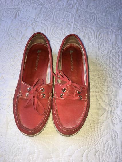 Zapato Mocasin/nautico Mujer