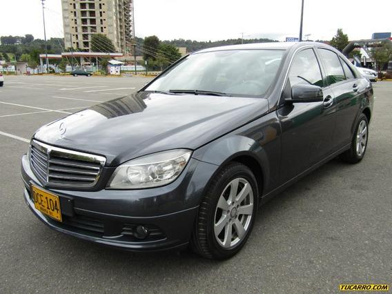 Mercedes Benz Clase C 180 Kompressor Mt 1800cc T Aa