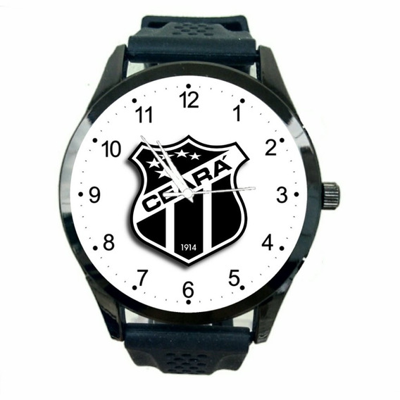 Relógio Ceará Masculino Sporting Club Futebol Time Jogo T306