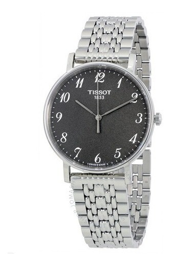 Relógio Tissot Masculino Tclassic Everytime Aço/rhodiummedio