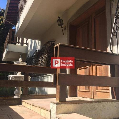 Sobrado Com 4 Dormitórios À Venda, 380 M² Por R$ 1.900.000 - Interlagos - São Paulo/sp - So3940