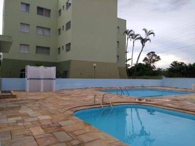 Apartamento Para Locação Definitiva No Golfinho 2 Dormitórios, Sala, Wc Social, Cozinha, Lavanderia E Garagem Para 1 Carro - Ap00238 - 2665865