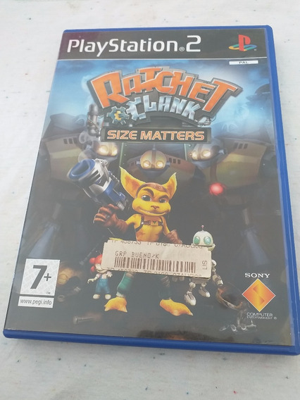 Ratchet Clank Size Matters Ps2 Original Campinas