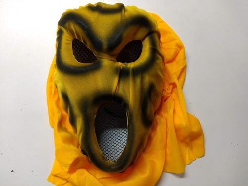 Mascara Careta Monstruo Terror Halloween Cotillon Disfraz