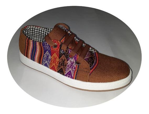 Zapatillas De Aguayo - Producto Artesanal 40 Al 43 Unisex