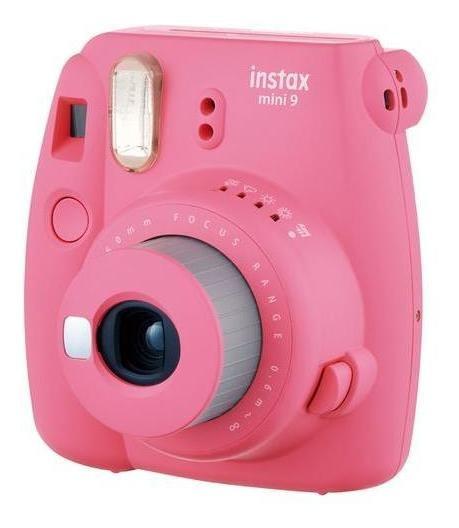 Câmera Fujifilm Instax Mini 9 Rosa Com Nfe