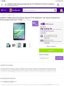 Tablet Samsung S2 32gb