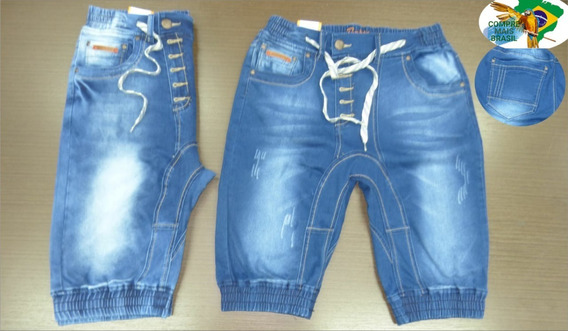 Kit 3 Bermudas Jeans Masculina Baratas Original / Atacado.
