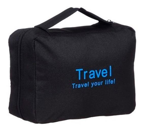Porta Cosmeticos Viaje Organizador Desplegable Impermeable, Mania-electronic