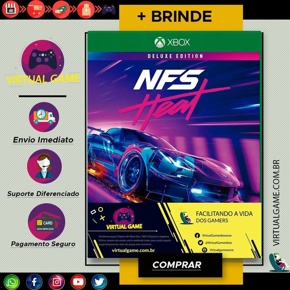 Need For Speed Heat - Jogo Xbox One - Midia Digital