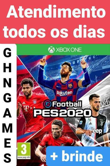 Pes 20 Xbox One Midia Digital Envio Imediato + Brinde