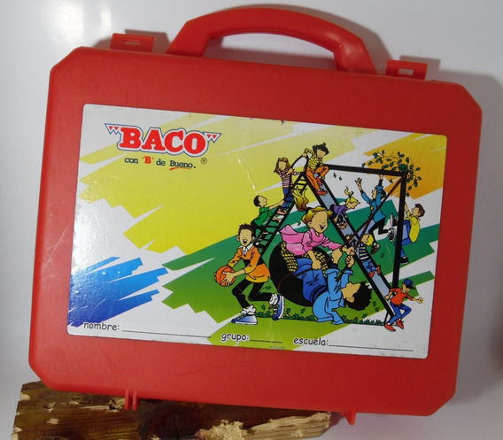 Portafolios Baco De Plástico Portafolios Vintage Marca Baco