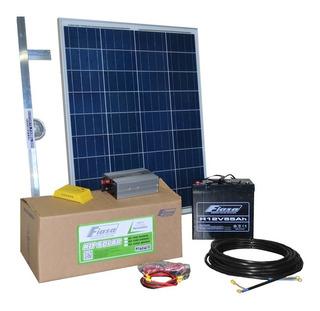 Kit Solar Fiasa® N1 300 Wh/día Energía Solar Autoinstalable