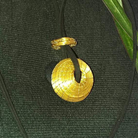 Colar De Capim Dourado Original