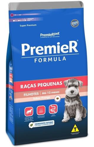 Ração Premier Formula Cães Raça Pequena Filhote Frango 2.5kg