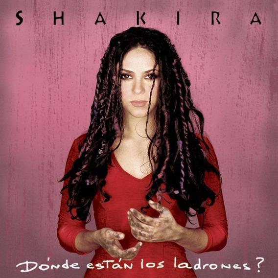 Donde Estan Los Ladrones - Shakira - Disco Cd (11 Canciones)