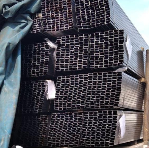 Tubo Rectangular Hierro Pulido 2x1 En 1.4mm A 6mts