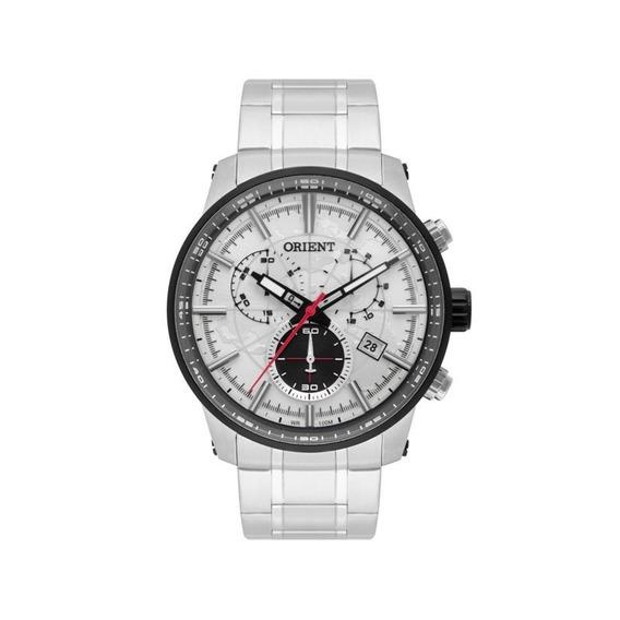 Relógio Orient Masculino Sport Prata Mbssc174 S1sx