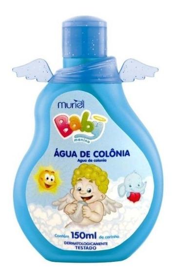 Água De Colônia Perfume Para Bebê Infantil Menino 150ml