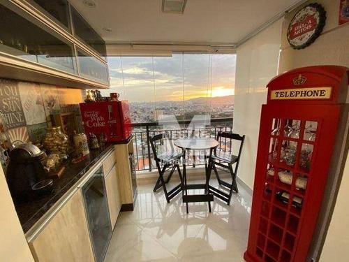 Imagem 1 de 20 de Apartamento À Venda, 70 M² Por R$ 535.000,02 - Vila Augusta - Guarulhos/sp - Ap2321