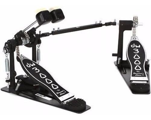 Doble Pedal De Bombo Para Zurdo Dw Cp3002l Doble Cadena