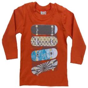 11.675 - Camiseta Manga Longa Malha Para Meninos - Have Fun