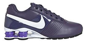 Tenis Nike Shox Deliver Feminino Roxo Original Frete Grátis